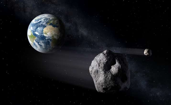 Asteroid passing over Earth ( A representational image. PC:
