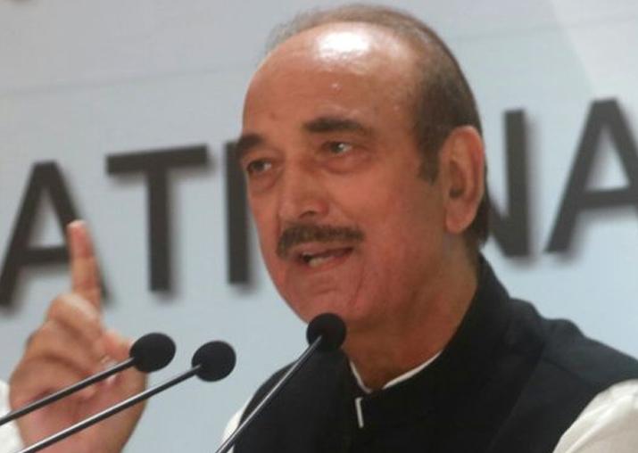 File pic of Ghulam Nabi Azad