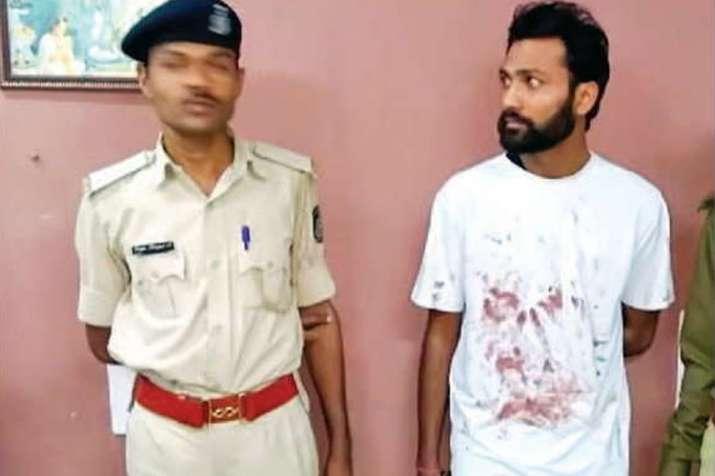 India Tv - 30-year-old accused Pritesh Patel in police custody