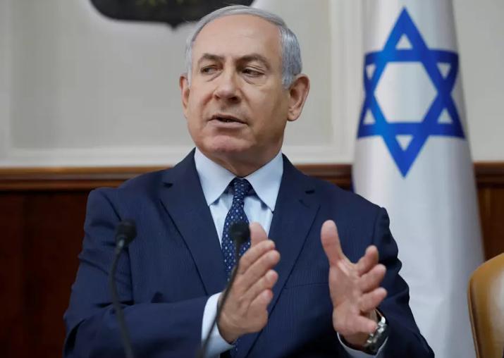 File pic of Israeli PM Benjamin Netanyahu