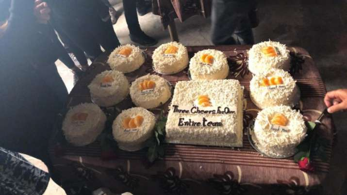 India Tv - Celebration cake