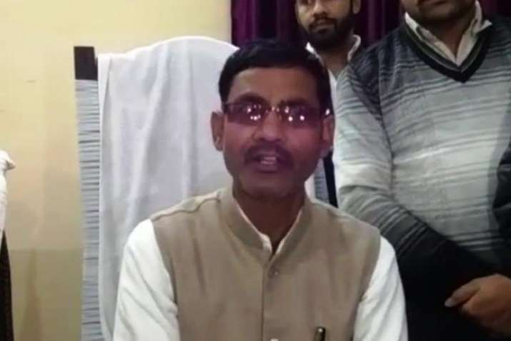 BJP MLA Vikram Saini said that he did not intend to hurt