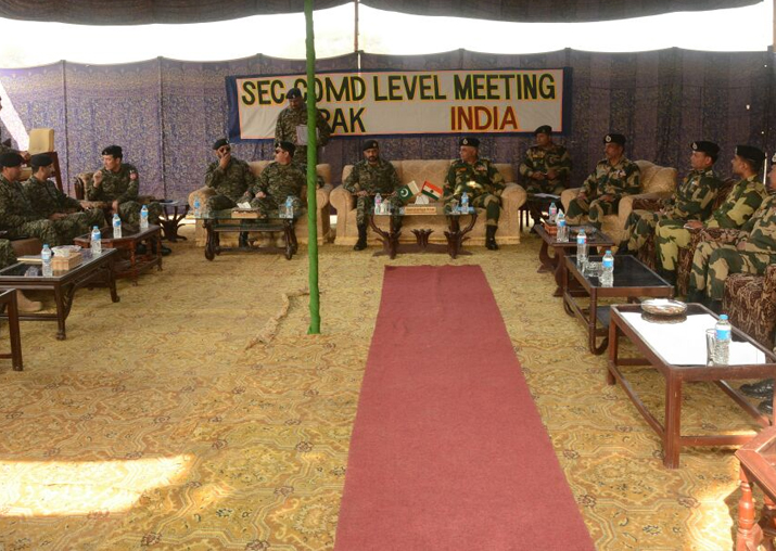 BSF, Pakistan Rangers hold flag meet
