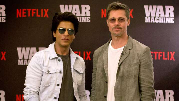 India Tv - Shah Rukh Khan, Brad Pitt