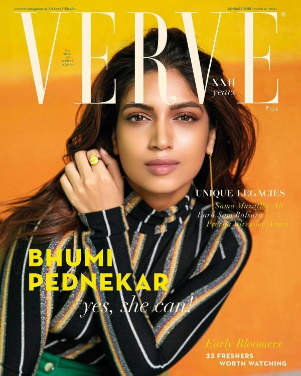 India Tv - Bhumi Pednekar featured in Verve magazine
