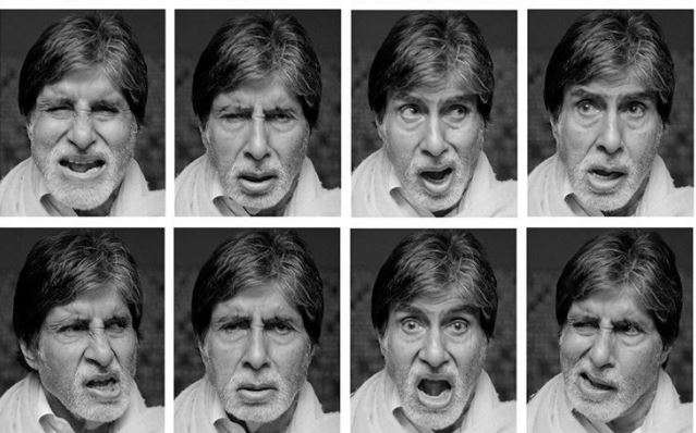 Big B shared this collage on Instagram