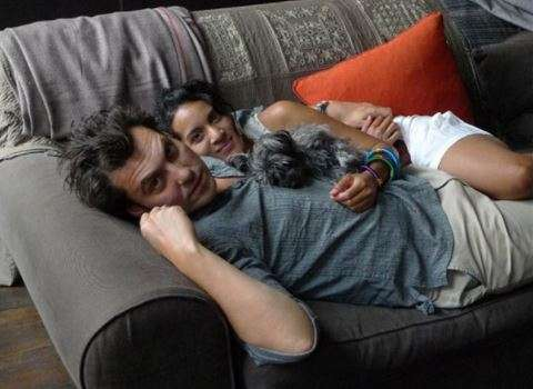 Anoushka Shankar with husband Joe Wright (PC: Anoushka