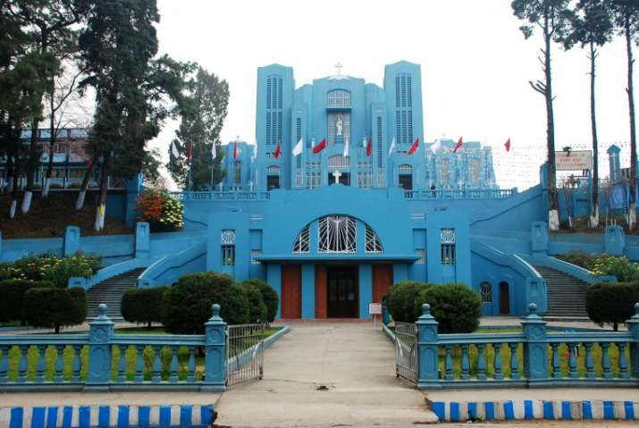 The Cathedral of Shillong will be among the landmarks to