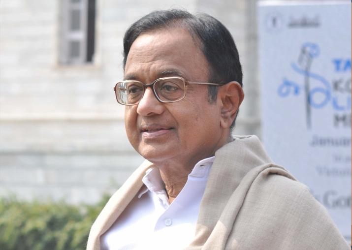 File pic of P. Chidambaram