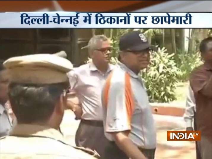 INX Media case: ED conducts raids at Chidambaram, Karti's