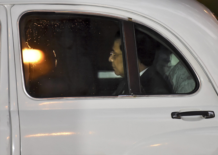 India Tv - CJI Dipak Misra arrives at his residence in New Delhi on Friday