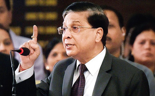 CJI sets up 5-judge constitution bench to hear major
