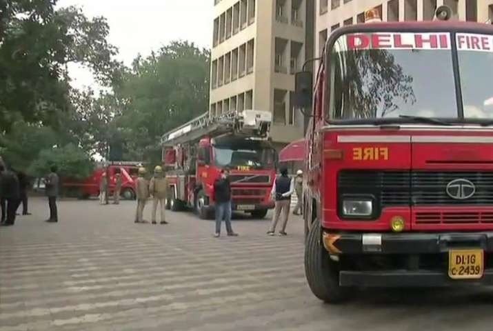 A major fire broke out on 11th floor of a high rise in CP,
