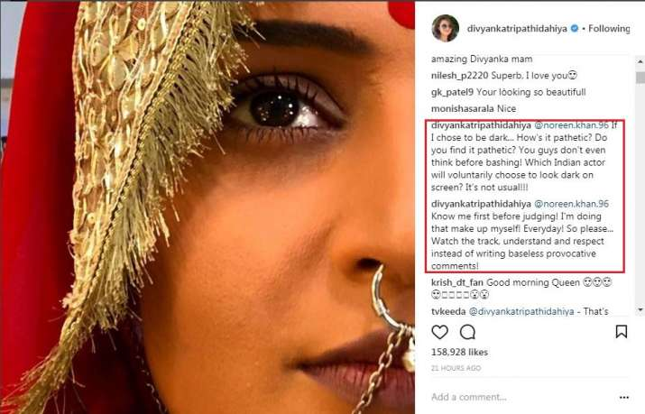 India Tv - Divyanka Tripathi's befitting reply to a social media troll