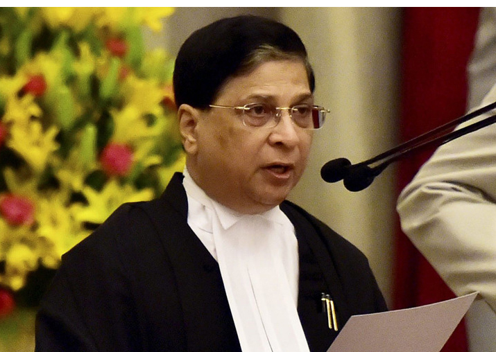 Opposition considering move to impeach CJI Dipak Misra: