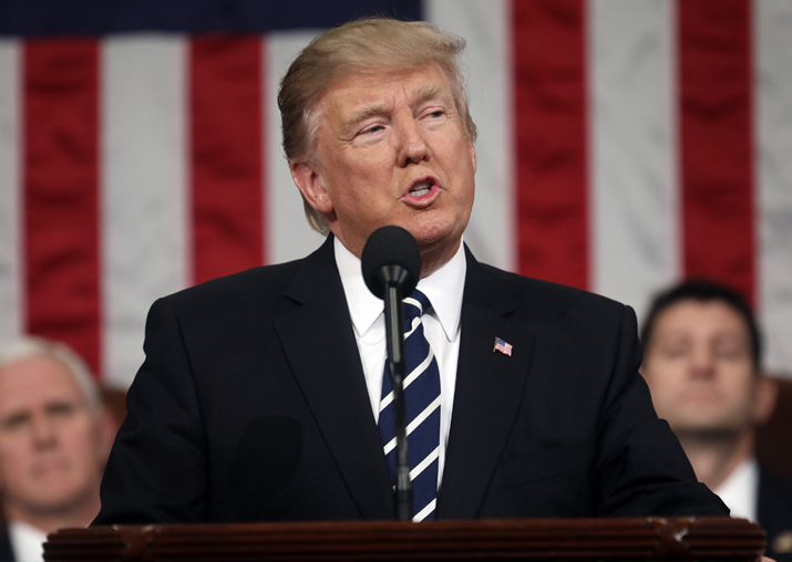File pic of Donald Trump