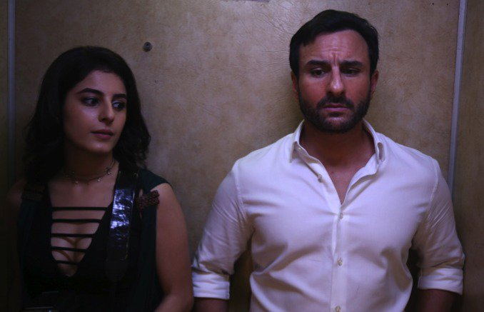 India Tv - Isha Talwar and Saif Ali Khan in Kaalakaandi