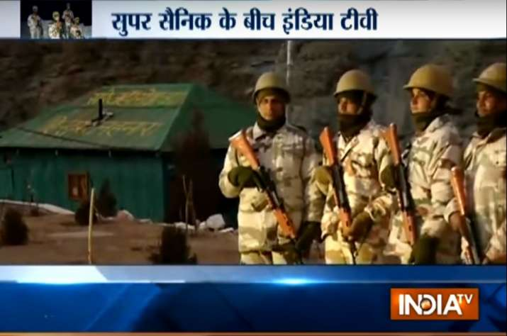 India TV team recently spent a day with ITBP jawans at