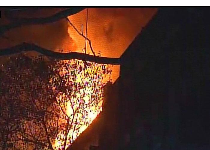 Major fire breaks out at Navrang studio in Mumbai's Lower
