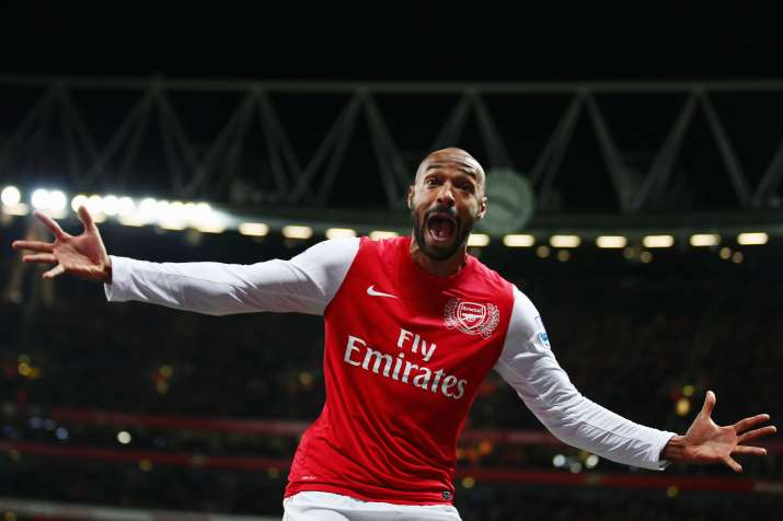 India Tv - A file image of former Arsenal player Thierry Henry