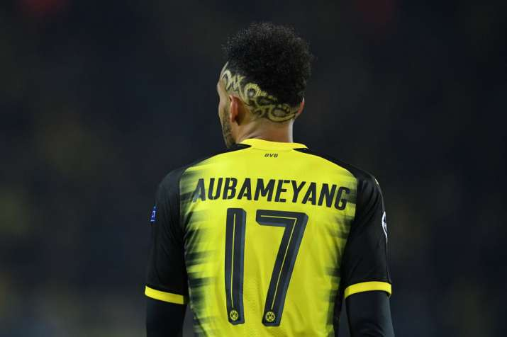 India Tv - A file image of Pierre Emerick Aubameyang.