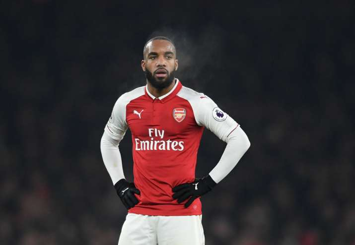 India Tv - A file image of Alexandre Lacazette.