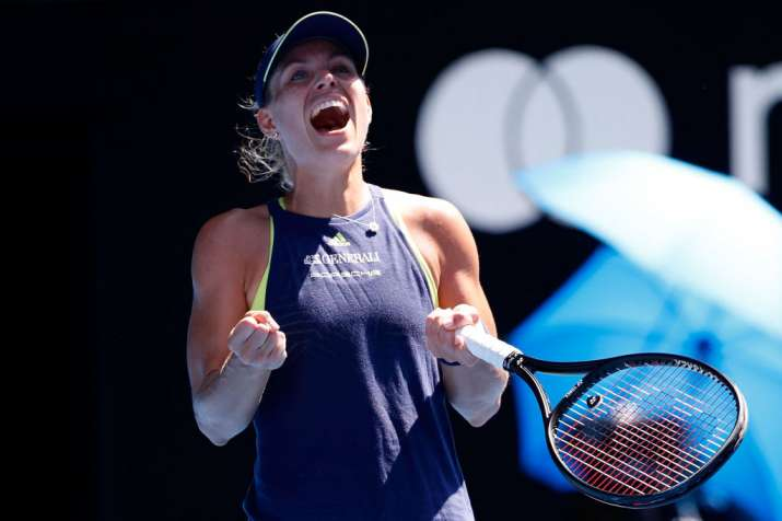India Tv - A file image of Angelique Kerber