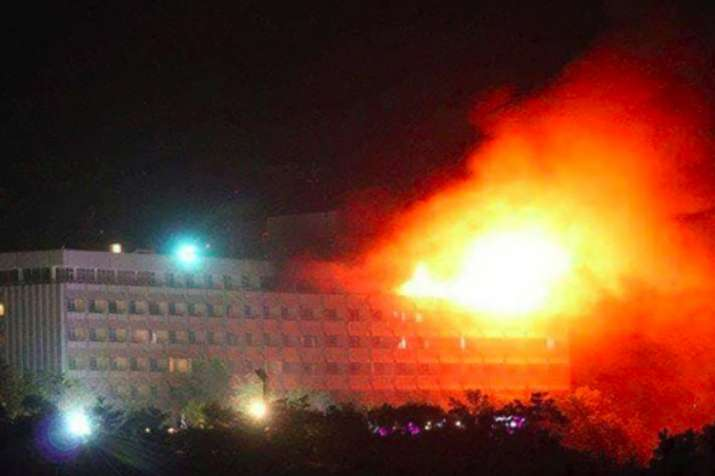 Kabul hotel attack: Encounter between gunmen, security
