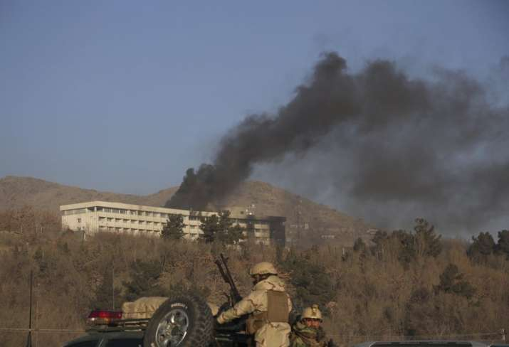 Kabul hotel attack: 6 civilians killed, all four attackers