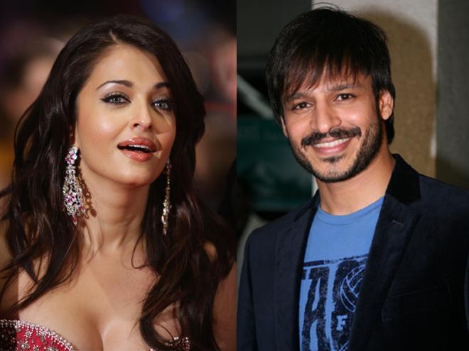 Aishwarya Rai Bachchan Vivek Oberoi same frame Shalom
