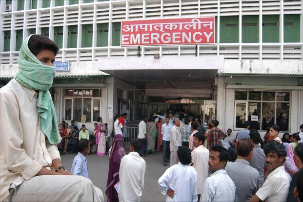India Tv - Public sector investment on healthcare accounts for less than 1.5 per cent of GDP.