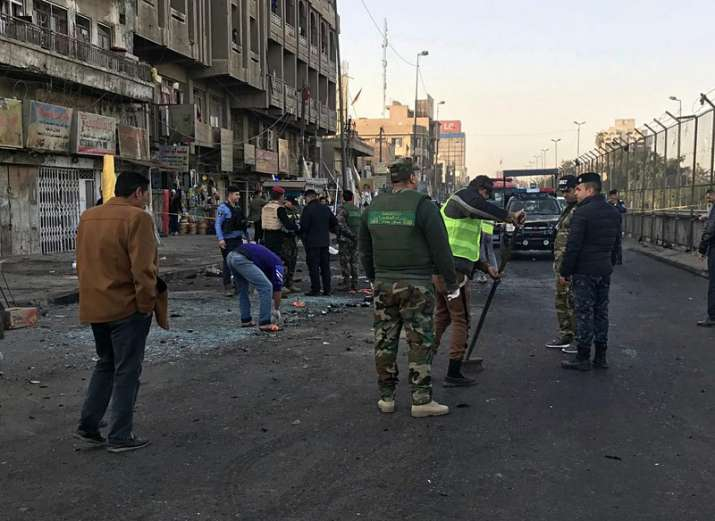 Iraq: 38 killed, 105 wounded as twin suicide bombing rocks