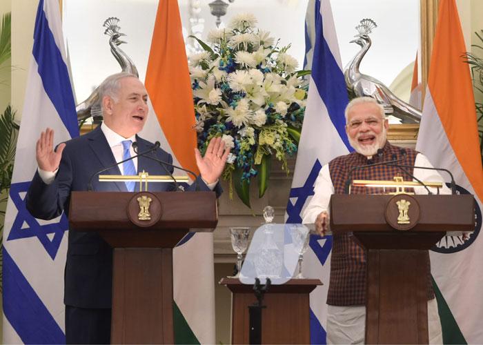Israeli Prime Minister Benjamin Netanyahu along with PM