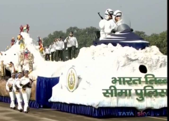 India Tv - After 20 years, ITBP float returned to Republic Day featuring China border