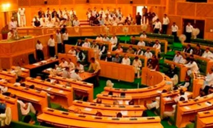 Opposition stages walkout from Jammu and Kashmir Assembly