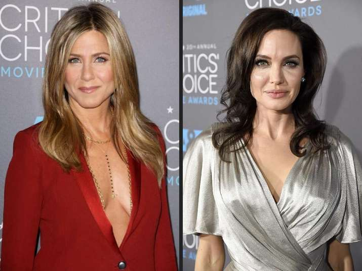 Angelina Jolie and Jennifer Aniston to present 75th Golden