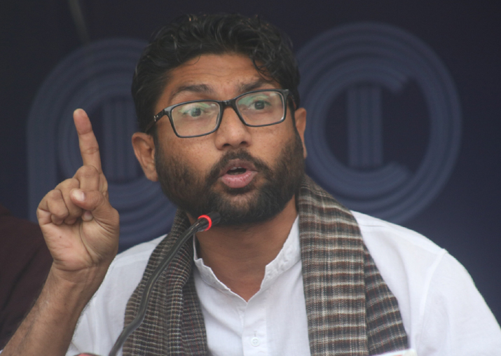 Independent MLA from Gujarat Jignesh Mevani
