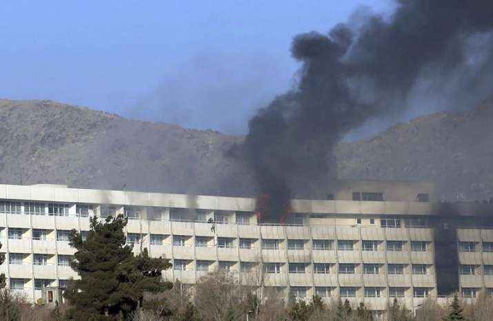Kabul hotel attack: Afghan forces end Taliban siege, death