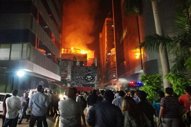 Fire at Mumbai's Kamala Mills compund had claimed 14 lives.