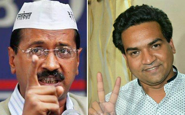 Kapil Mishra tweets AAP's 'internal survey', says the party