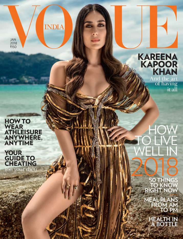India Tv - Kareena Kapoor Khan featured in Vogue magazine