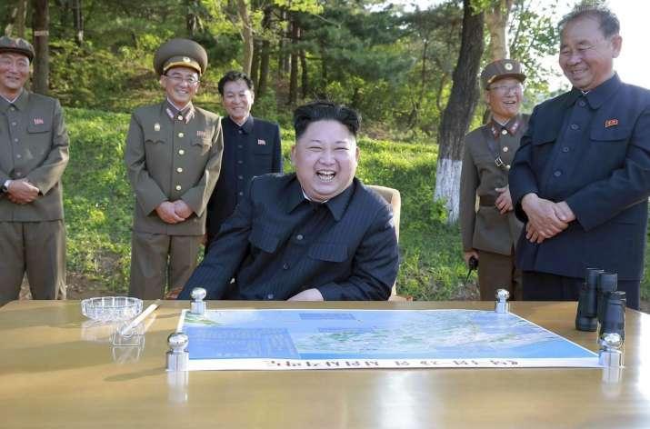 File photo of North Korean leader Kim Jong Un