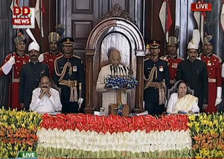 President Ram Nath Kovind's maiden address to the joint