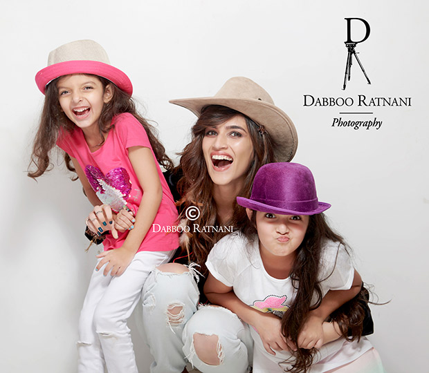 India Tv - Dabboo Ratnani Calendar 2018 BTS photo of Kriti Sanon