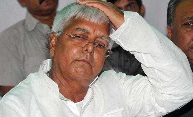 File photo of Bihar chief minister Lalu Yadav