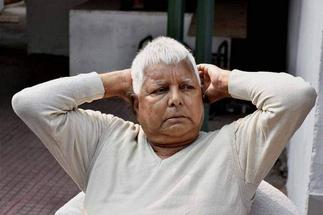 The sentencing of Lalu Yadav, who is lodged at the Birsa