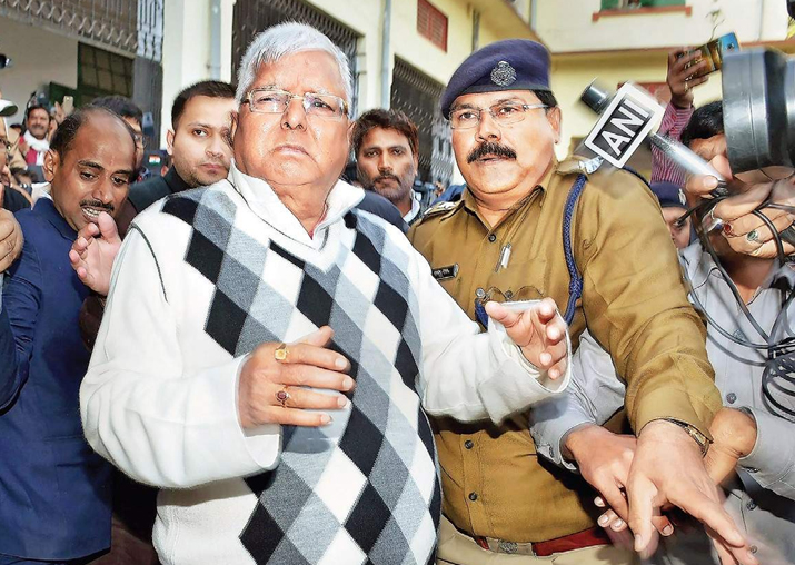 Fodder scam verdict: Lalu sentenced to 3.5 years in jail;