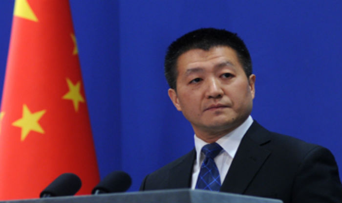 File photo of Chinese Foreign Ministry spokesperson Lu Kang.