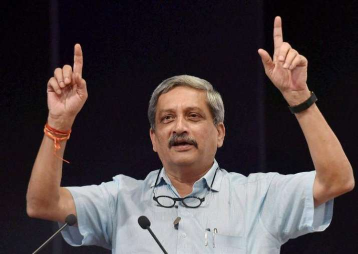 File photo of Manohar Parrikar
