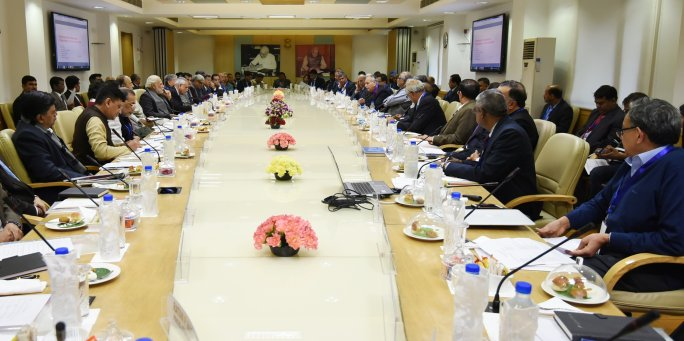 India Tv - PM Modi interacting with leading economists and sectoral experts on finding ways to double income of farmers, on January 10